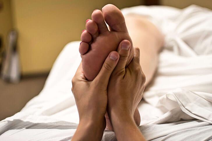 masssage, wellness massage fødder